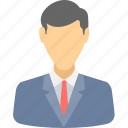 business, manager, client, user, businessman, man, avatar icon