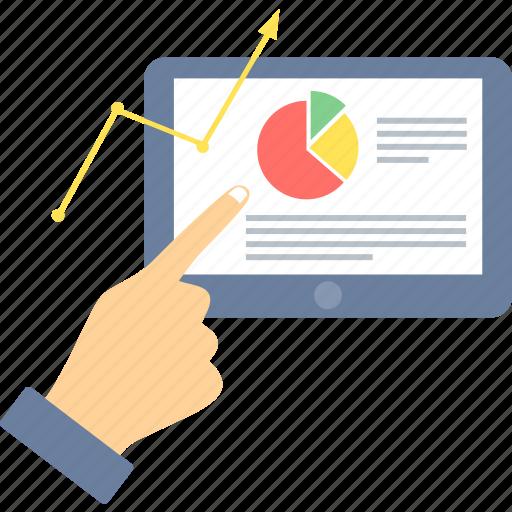 analysis, business, data, graph, presentation, report, statistics icon