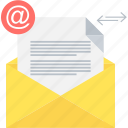 mail, communication, envelope, inbox, letter, message, email icon