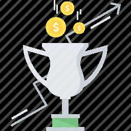 achievement, award, bonus, goal, mission, reward, trophy icon