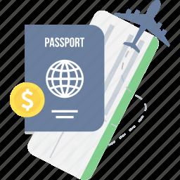 id, id card, id proof, identity, passport, travel, visa icon