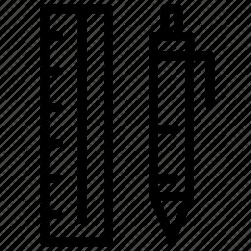 Design, pen, pencil, ruler icon - Download on Iconfinder