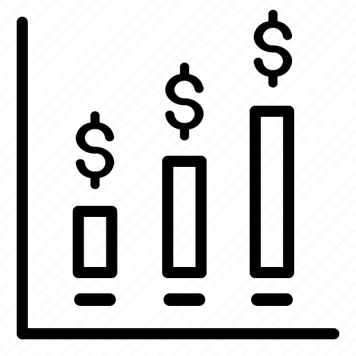 business, increase, profit, sales icon