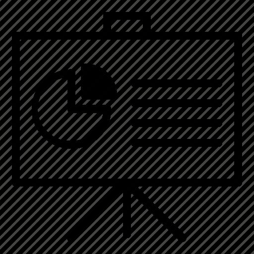 analisis, business, graph, presentation icon