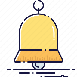 alarm, alert, bell, handbell, notification, ringer, sound icon