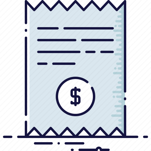 banking, blank, cash, check, paying, payment, shopping icon