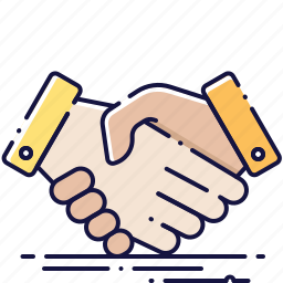 agreement, contract, deal, hands, handshake, partnership, team icon