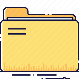 data, directory, document, file, folder, organizing, portfolio icon