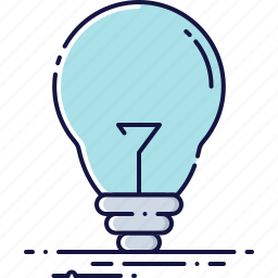bright, bulb, idea, illumination, lamp, light, lightbulb icon