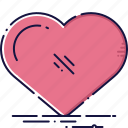 day, heart, like, love, media, social, valentine icon