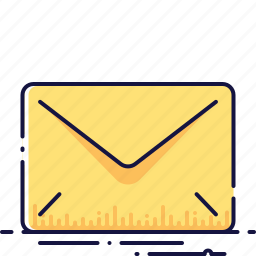 email, envelope, letter, mail, message, send, talk icon