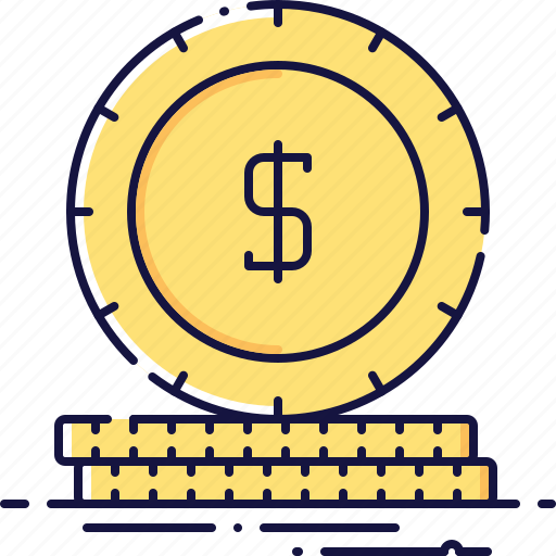 business, cash, cent, coin, dollar, finance, money icon