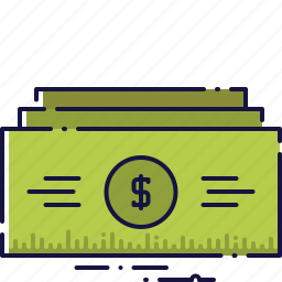 business, cash, currency, dollar, finance, money, savings icon