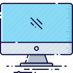 desktop, device, display, monitor, screen, technology icon