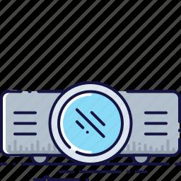 cinema, device, equipment, movie, presentation, projector, video icon