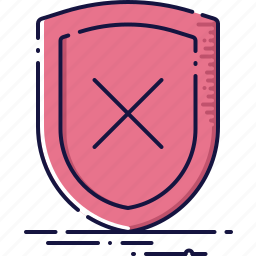 firewall, guarantee, protect, safe, security, shield icon