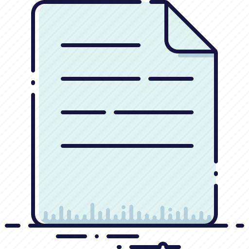 data, document, file, format, information, page, text icon