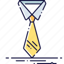 business, clothes, collar, dresscode, fashion, tie icon