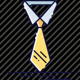 business, clothes, collar, dresscode, fashion, tie icon