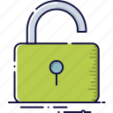 padlock, password, protection, secure, security, unlock icon