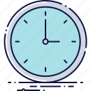 business, clock, hour, office, time, watch icon