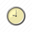 cartoon, circle, clock, pointer, round, time, watch icon