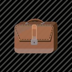 bag, business, cartoon, case, office, portfolio, suitcase icon