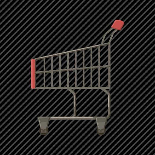 cart, cartoon, commerce, market, retail, sale, store icon