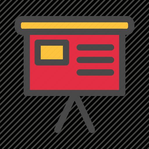 business, office, presentation, work, working icon