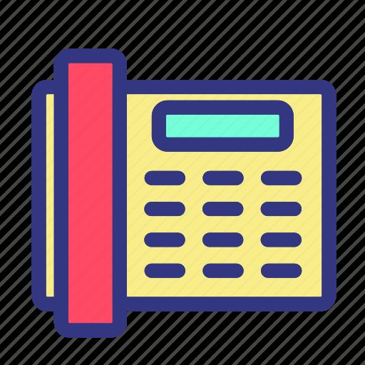businesses, meeting, presentation, telephone, work icon