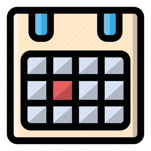 calendar, date, month, shedule, time icon