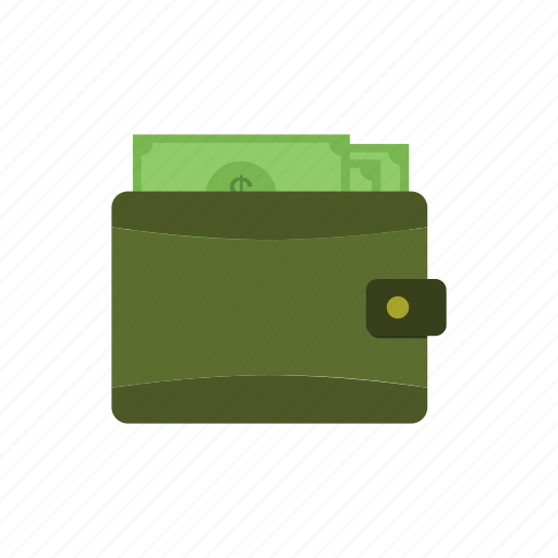 business, cash, currency, dollar, finance, money, wallet icon
