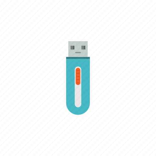 cloud, connection, data, drive, network, storage, usb icon