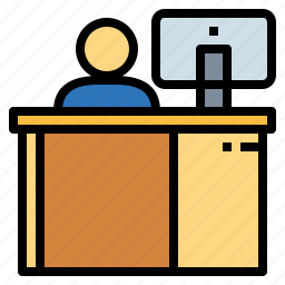 business, job, office, officer, work icon