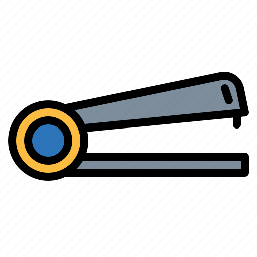 education, material, office, school, stapler, tools icon