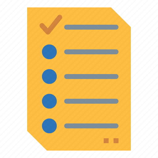 checking, clipboard, list, tasks, verification icon