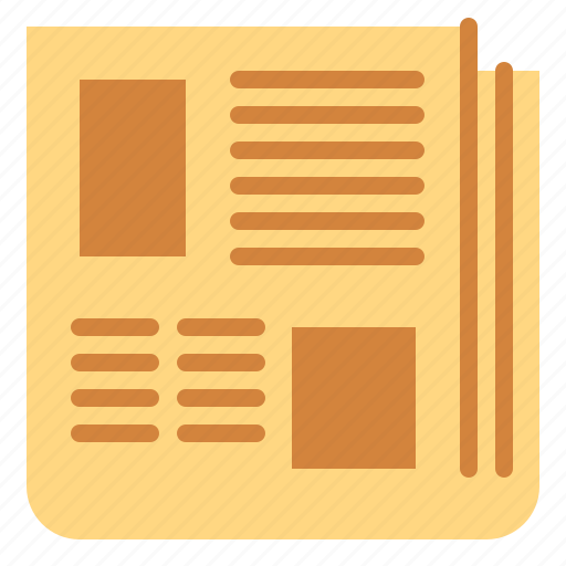 communications, interface, journal, news, newspaper, report icon