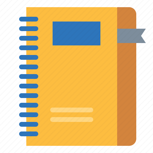 address, agenda, book, bookmark, business, notebook icon