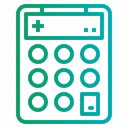 calculating, calculator, electronics, maths, technology icon