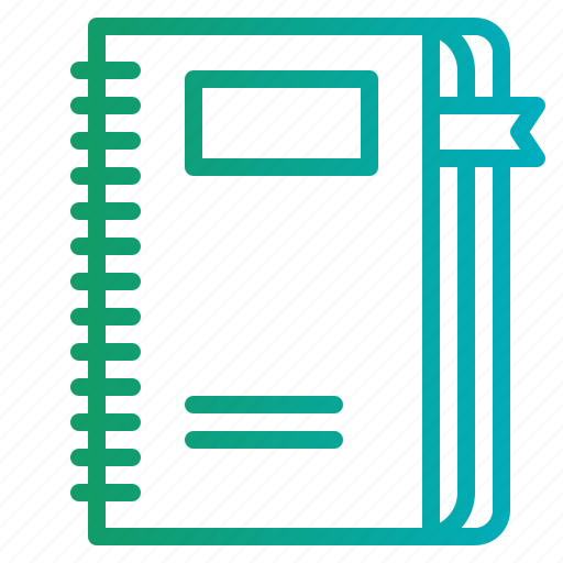 address, agenda, book, bookmark, business, notebook icon