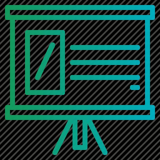 business, financial, graphic, presentation, statistics icon