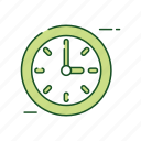 business, clock, equipment, office icon
