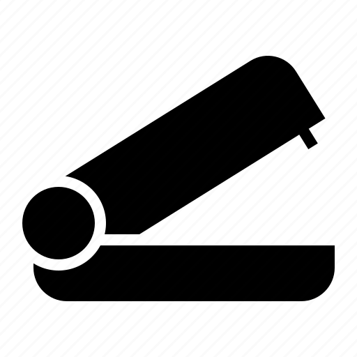 equipment, office, paper, stapler icon