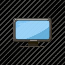 cartoon, desktop, display, equipment, modern, monitor, screen icon
