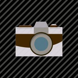 camera, cartoon, photo, photography, retro, shoot, technology icon