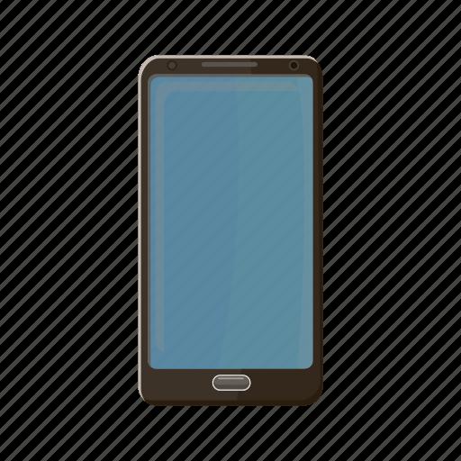 business, cartoon, communication, mobile, phone, smartphone, technology icon