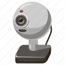 cam, camera, cartoon, communication, conference, video, webcam icon