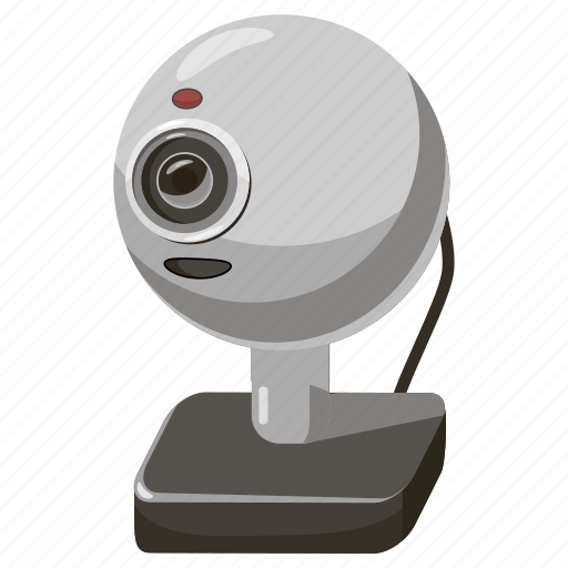 cam, camera, cartoon, communication, conference, video, webcam icon