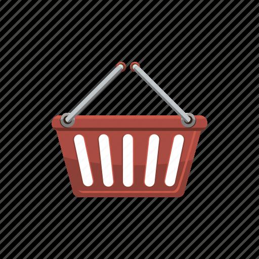 basket, buy, cart, cartoon, commerce, shop, shopping icon