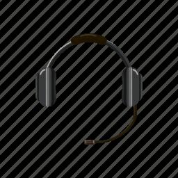 call, cartoon, center, headphone, headset, microphone, sound icon